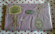 Vintage No-iron Wamsutta Supercale Plus Queen 200 Count Flat Sheet Lilac/rose