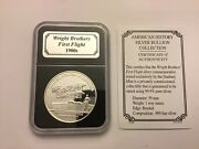 Wright Brothers First Flight - 1 Oz. Silver .999 Bullion Coin
