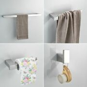 Paper Holders Euro Style Bathroom Accessories Stainless Steel Bath Hardware Set