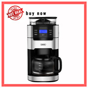 Gevigrind And Brew Coffee Maker, 10-cup Coffee Maker With Grinder Coffee Machine