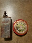 Vintage Chinese Carved Horse Marble Etched Stone Ink Wax Stamp Seal Sealer