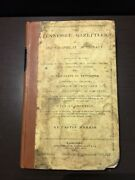 Rare 1834 Tennessee Gazetteer Morris Topographical Rivers Mountains Tn History