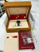 Omega Speedmaster 38 Co-axial Chronometer Chronograph Menand039s Black Watch -...