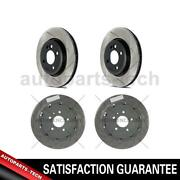 4x Centric Parts Front Rear Disc Brake Rotor For Chevrolet Corvette 20152019