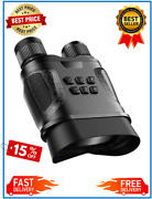 High Power Night Vision Device Binoculars With Video Recording Hd Infrared Day