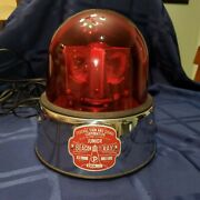 Federal Sign And Signal Beacon Ray Light Junior In Box Vintage Police Light