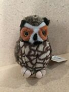 Wild Republic Great Horned Owl Audubon Plush With Sound Birds Of Prey With Tags