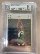2007-08 Topps Chrome Kevin Durant Rookie Rc 131 Bgs 9 High Crossover Chance