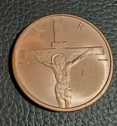Silver Shield Inri Crucifixion 2020 Lot Of 20 1 Oz .999 Copper Round 2nd Quality