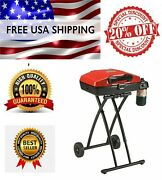 Coleman Sportster Propane Grill Wheeled Portable Outdoor Barbeque Bbq Cooking