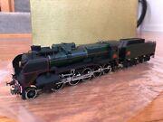 Metropolitan Sa Brass Ho Scale Sncf 150p Steam Locomotive And Tender. Boxed, Mint