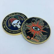 Cia/jsoc Challenge Coin We Shall Reap What Ye Have Sown Large 2 Size 807