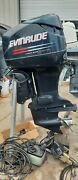 2002 Evinrude 115 Di With 20 Shaft And Controls-freshwater Used-only 455 Hours.