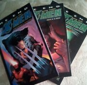 X-men The End Volumes 1,2,3 Graphic Novel Tpb Lot-setoop Book One Two Three