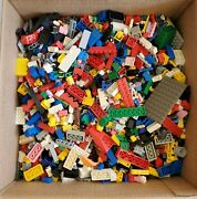 Lego Bulk Lot Used Pieces 10lbs In Gross Weight - See Pic - From Collection