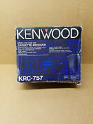 Nos New Old School Kenwood Krc-757 Pullout Car Cassette Player Needs Work