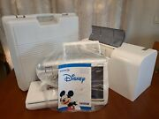 Brother Embroidery Sewing Machine Disney Innov-is 4000-d Acc Pkg Hoops Low Count