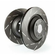Ebc For Infiniti Fx50 2009-2013 Front Brake Rotor Slotted 5.0 Usr - Set Of Two