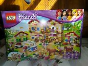 Lego Friends Summer Riding Camp 3185 Inventoried 100 W/box And Instructions