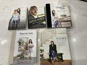 New 5 Books Chip Joanna Gaines Magnolia Story Table Capital Home Body-hardcover