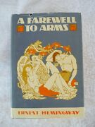 A Farewell To Arms Ernest Hemingway 1957 First Edition Library Hc 1929 Facsimile