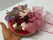 Beautiful,.. Hat For Antique French, Boudoir Or German Bisque Doll Head