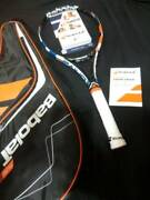 Unused Babolat Tennis Racket Pure Drive Play G With Sensor Grip Size