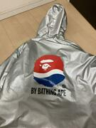A Bathing Ape Pepsi Reversible Hoodie Jacket Milo Camouflage L Rare From Japan
