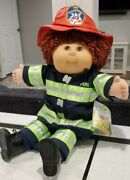 Firefighter Cabbage Patch Kid - Toys R Us Exclusive