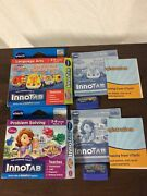 2 Vtech Innotab Games Sofia The First, Go Go Smart Wheels In Box Complete