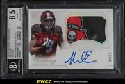 2014 National Treasures Silver Mike Evans Rookie Rc Patch Auto /25 303 Bgs 8.5