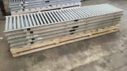 27 Oaw Gravity Roller Conveyor X 50' 1.9 Rollers, 3 Centers, 24 Bf