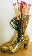 Fireplace Match Holder Brass Boot Excellent Fireplace Matches Not Included