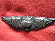 765. Wwi Full Size Eisenstadt Co.often Mistakenly Called Dallas Wing With Corr