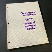 1977 Johnson Outboards Special Service Tools Manual Book Catalogue No.379054