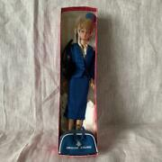 Vintage 1972 American Airlines Barbie Doll Cabin Attendant Style With Box