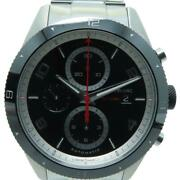 Mont Blanc Timewalker Watch Stainless Steel Automatic Black 6834