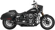Freedom Performance Hd00812 2-into-1 Turnout Exhaust System - Black
