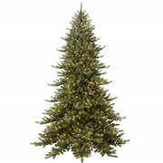Puleo International 9and039 Royal Majestic Fir Artificial Christmas Tree With 800
