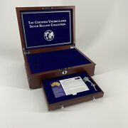Pcs Stamps And Coins - Australian Silver Bullion Store/display Box W/ Key