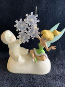 Snowbabies Dept 56 Fairy Flakes Light Up Figurine From Disney Guest Collection