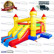 20x16ft Commercial Inflatable Jumping Combo Bounce House With Air Blower