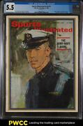 1963 Sports Illustrated Newsstand Roger Staubach 1st Cover V19 23 Cgc 5.5