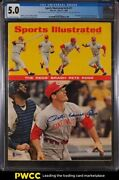 1968 Sports Illustrated Newsstand Pete Rose 1st Cover V28 21 Cgc 5.0