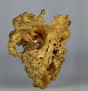 Gold Crystalline Native Gold From Sonora District Tuolumne County California