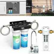 Whole House Water Filter Under Sink Water Filter System, Reduces Chlorine,lead