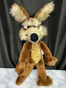 1971 Wile E Coyote 19andrdquo Plush Mighty Star Warner Bros Vintage Road Runner Wiley