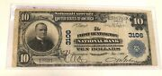 1904- Series 1902 Huntington West Virginia 10 Note 2nd Title Chg 3106