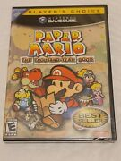 Paper Mario The Thousand-year Door Gamecube 2004 Brand New Sealed
