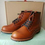 New Red Wing Beckman Mens 26cm Size Brown With Boots Box And Instructions